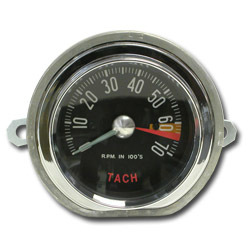 1959 Corvette Tachometer 270 HP