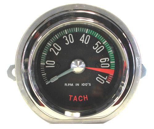 1960 Early Corvette Tachometer 6500