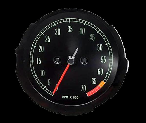 1965-1967 corvette hi rpm Tachometer