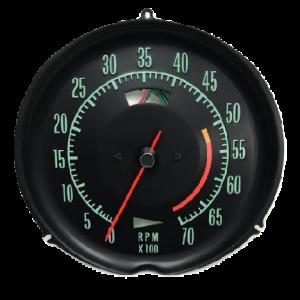 1968-1971 Corvette low RPM Tachometer