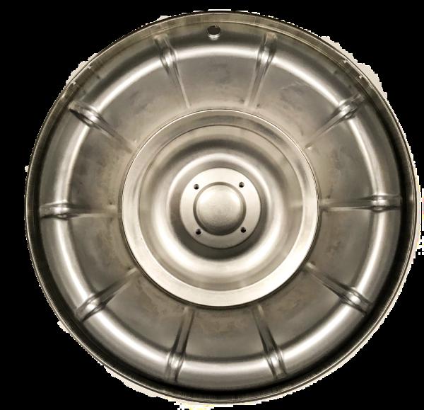 1956-1958 corvette hubcap rear