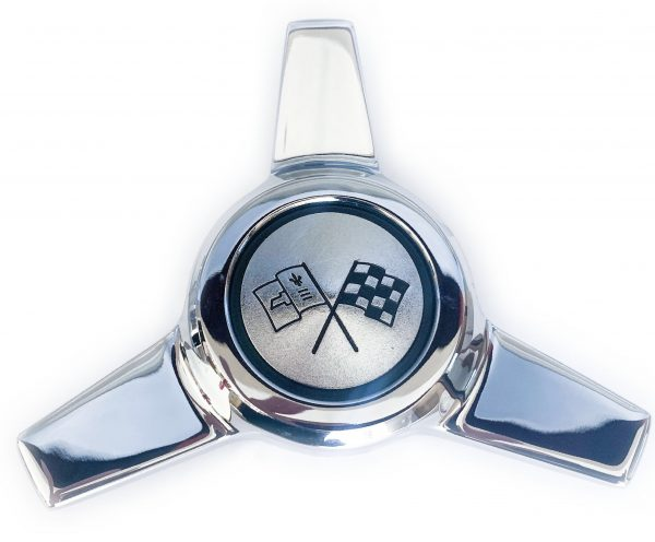 1964 Corvette hubcap spinner 1038