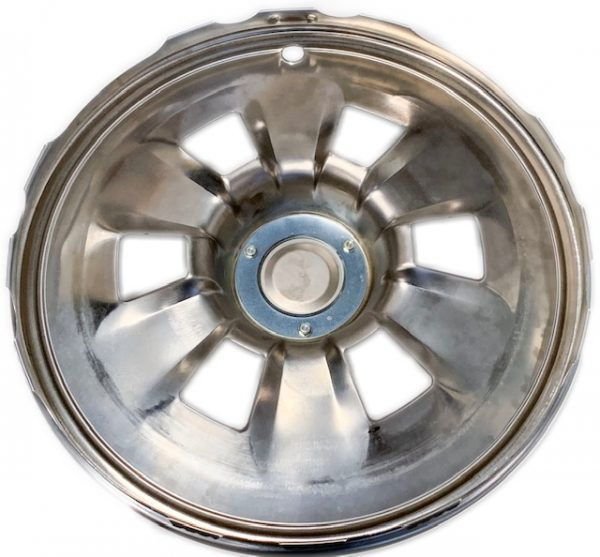 1965 Corvette Hubcap Rear