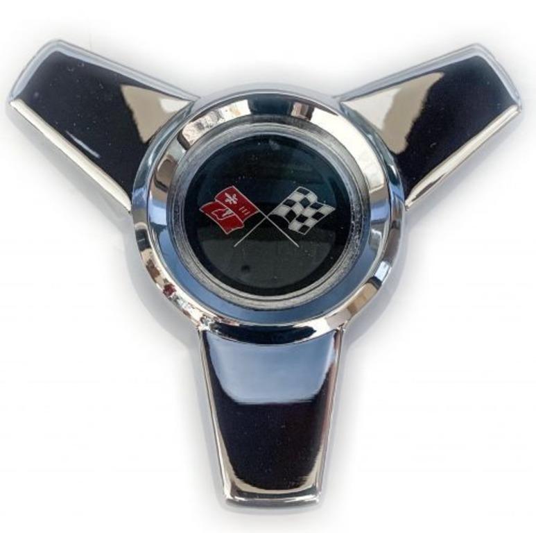 Corvette hubcap spinner