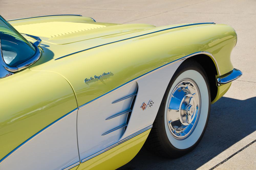1958 Corvette Hubcaps