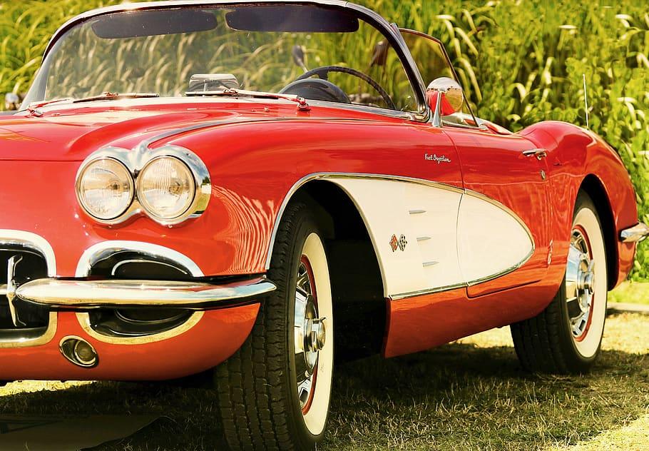 Corvette dash insert